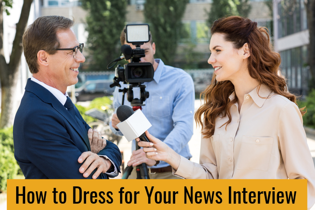 When you are to appear on camera there are specific recommendations you should learn for success