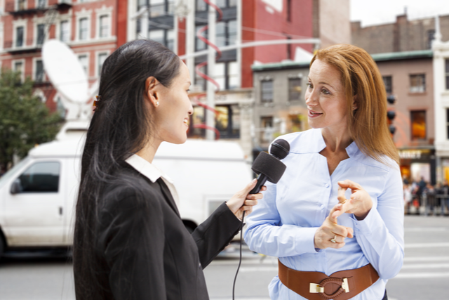 Looking great for your news interview requires knowledge of what you look good with on camera and a few technical tips.