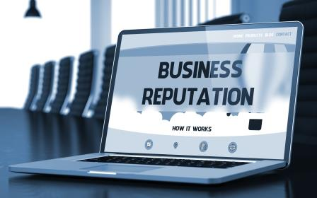 Reputation management involves responding to online comments, reviews, and discussions about your business